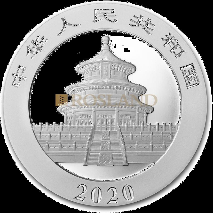 30 Gramm Silbermünze China Panda 2020