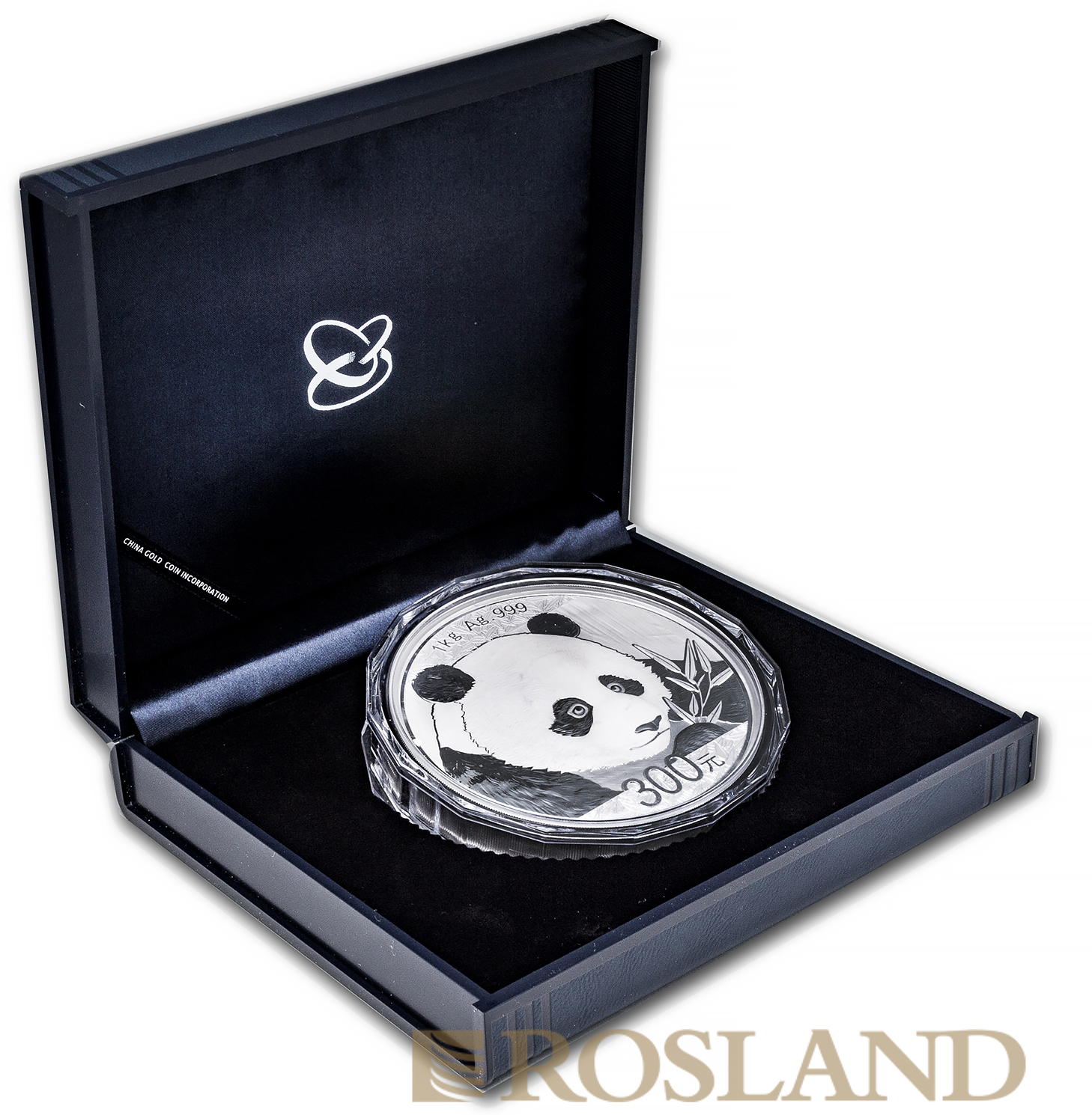 1 Kilogramm Silbermünze China Panda 2018 PP (Box, Zertifikat)
