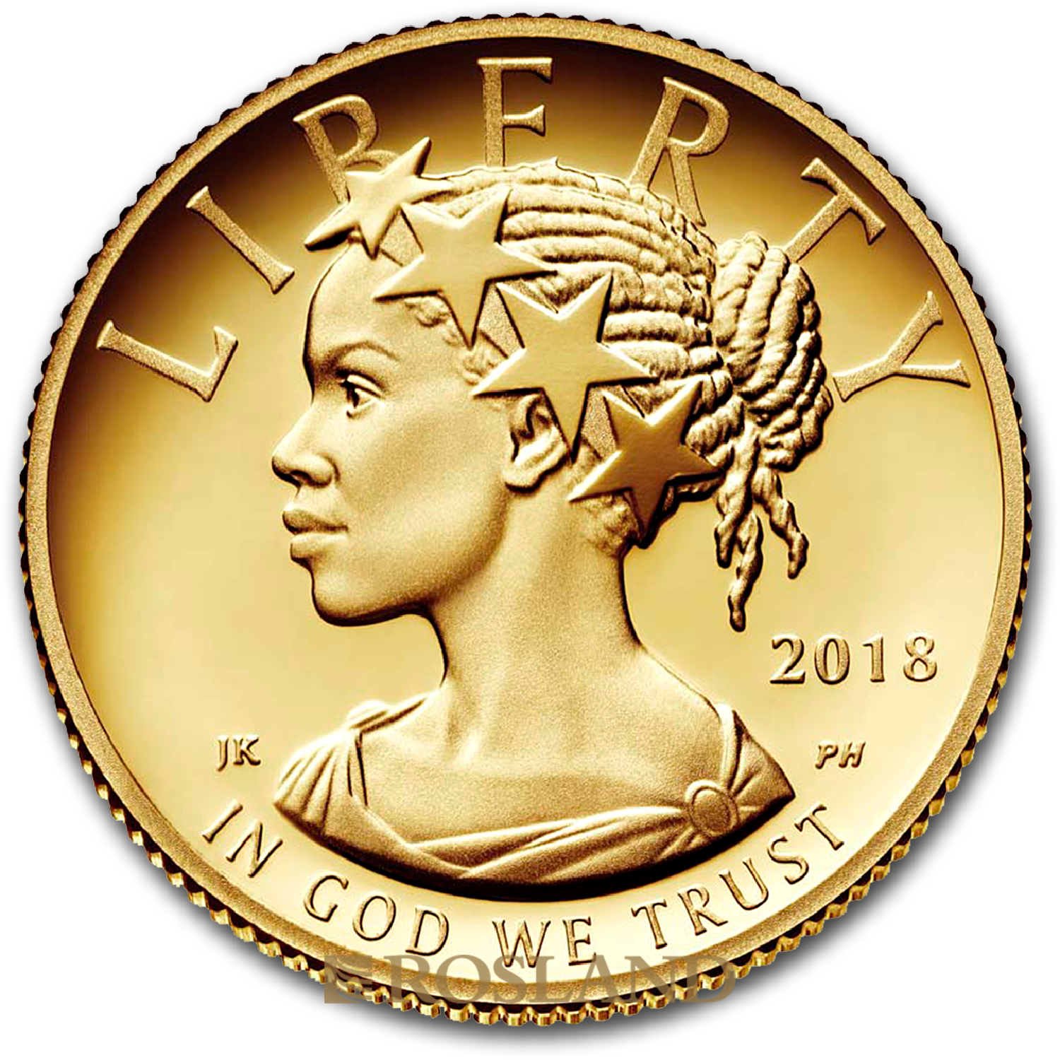 1/10 Unze Goldmünze American Liberty 2018 PL (HR, Box, Zertifikat)