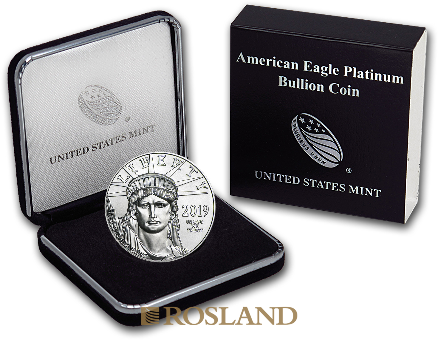 1 Unze Platinmünze American Eagle 2019 (Box)