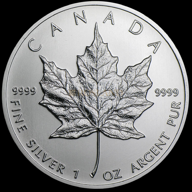 1 Unze Silbermünze Kanada Maple Leaf 2013