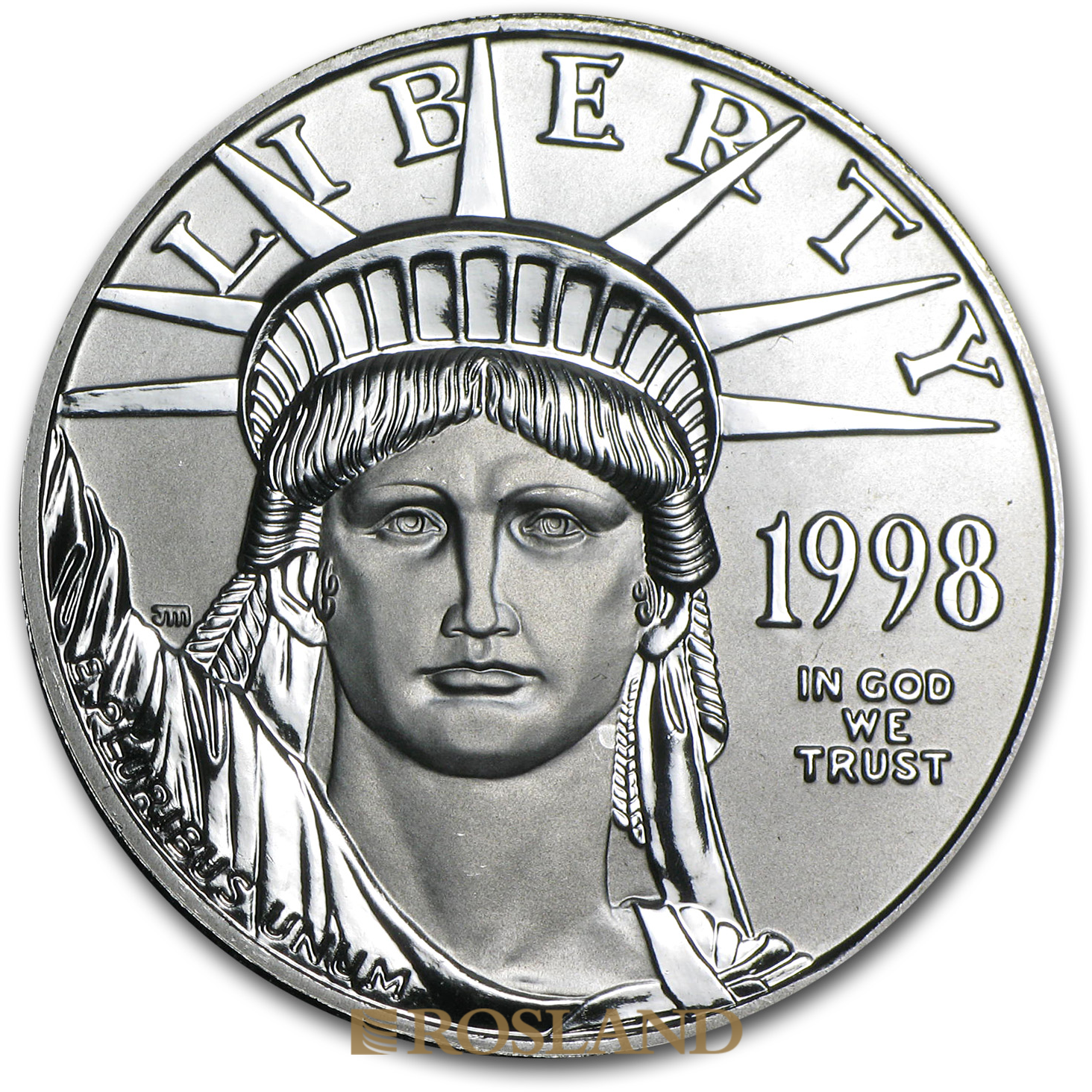 1 Unze Platinmünze American Eagle 1998