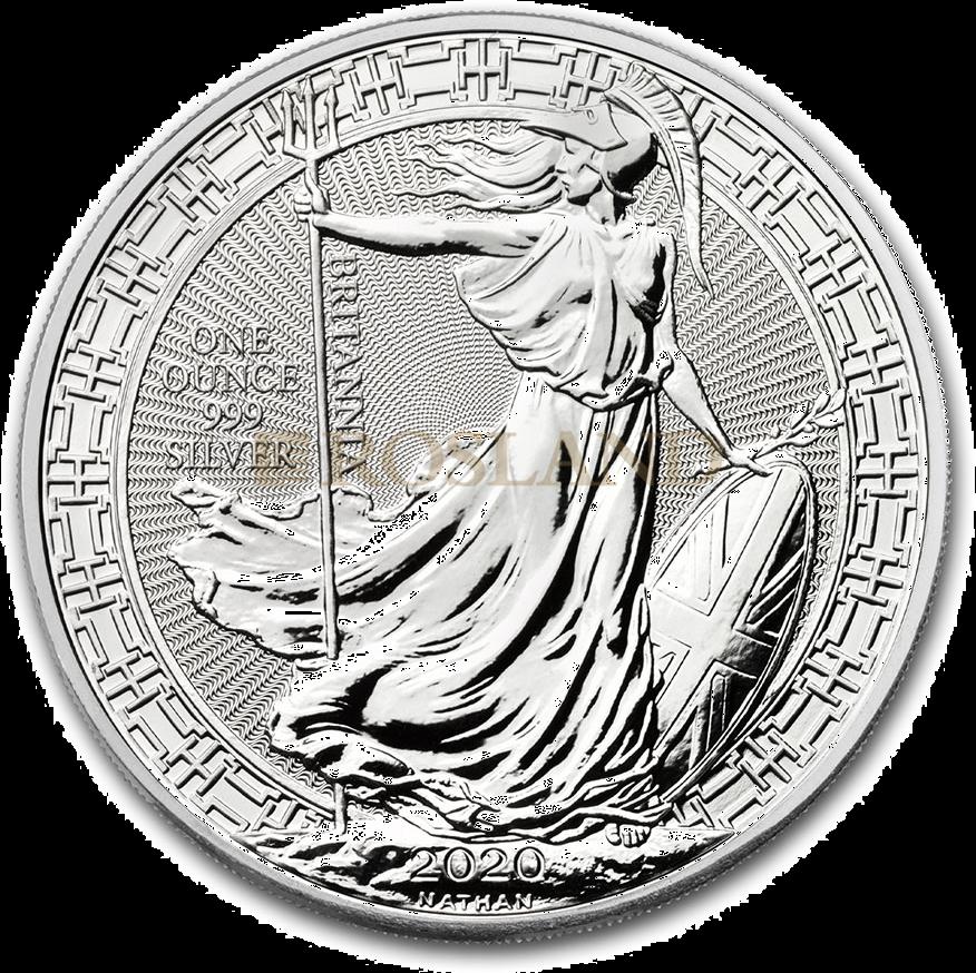 1 Unze Silbermünze Britannia 2020 Oriental Border