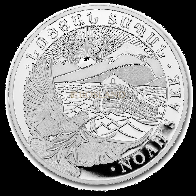 1/4 Unze Silbermünze Armenien Arche Noah 2020