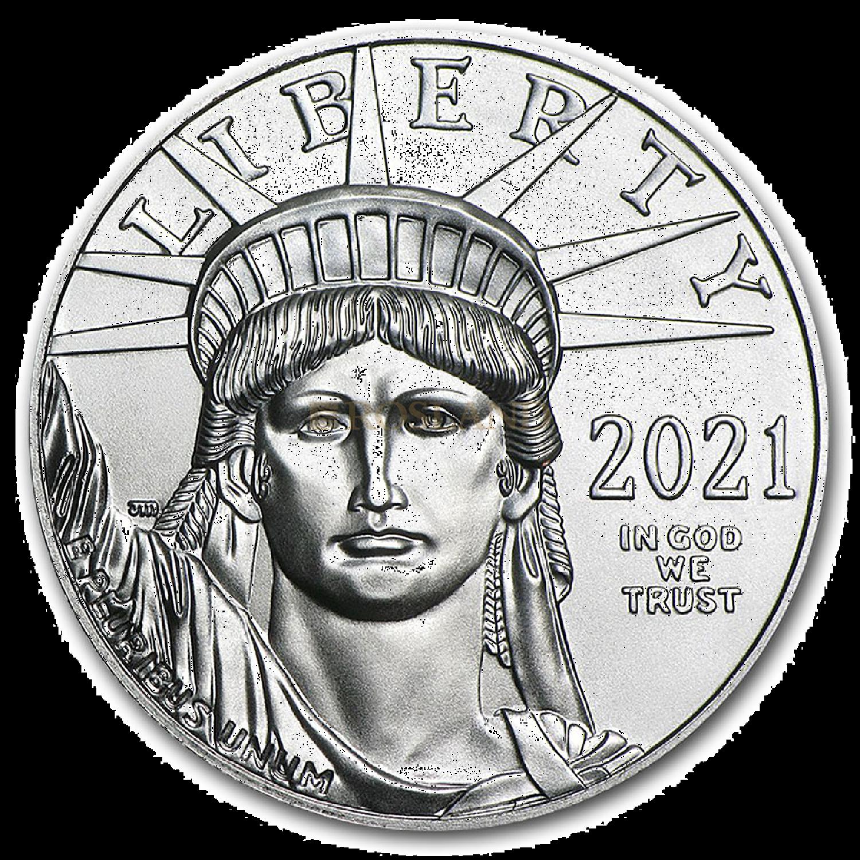 1 Unze Platinmünze American Eagle 2021