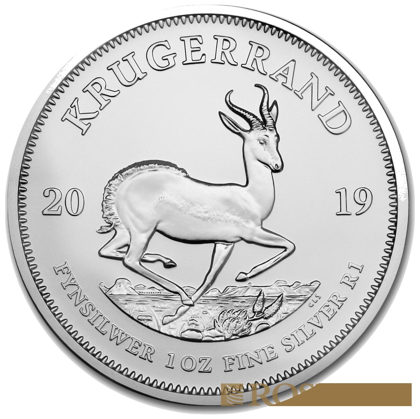 1 Unze Silbermünze Krügerrand 2019
