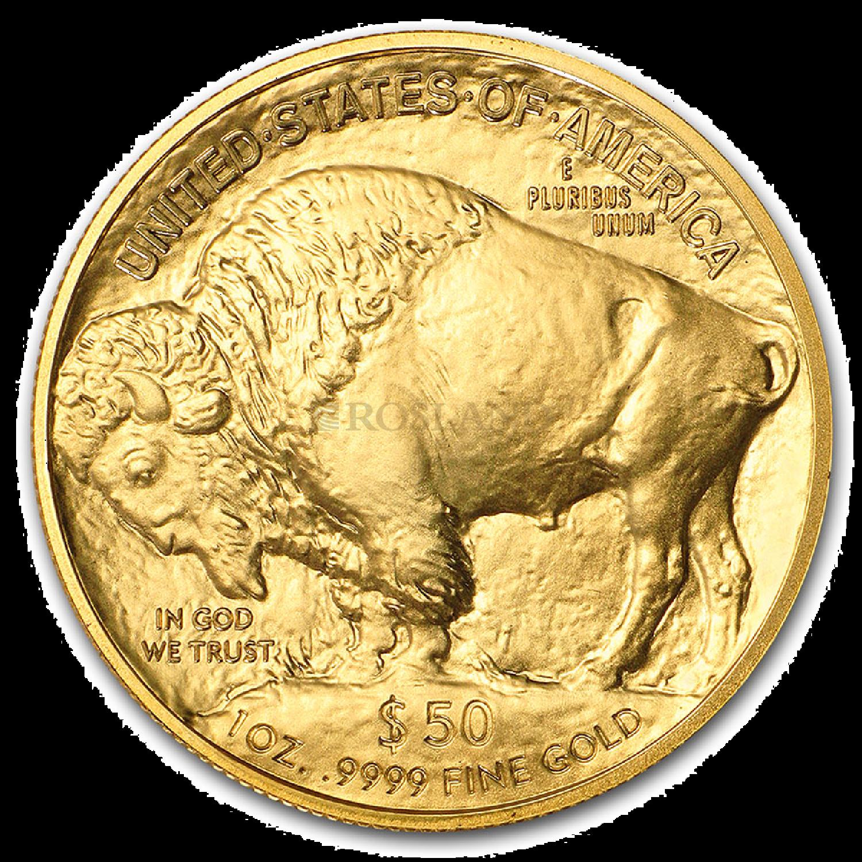1 Unze Goldmünze American Buffalo 2021 PCGS MS-70 (Black Diamond, FDOI)