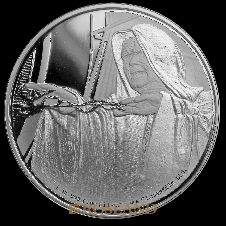 1 Unze Silbermünze Star Wars™ Der Imperator 2018 PP (Box, Zertifikat)