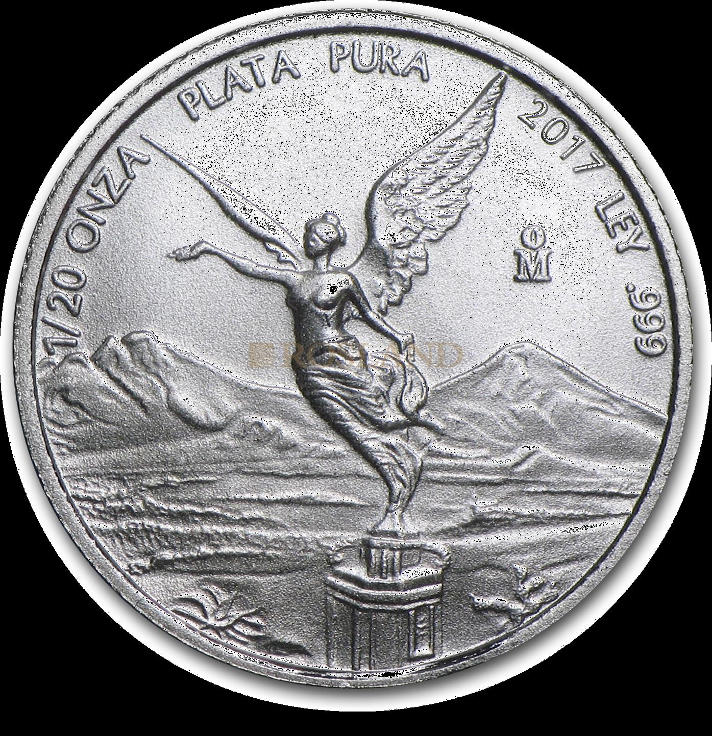 1/20 Unze Silbermünze Mexican Libertad 2017