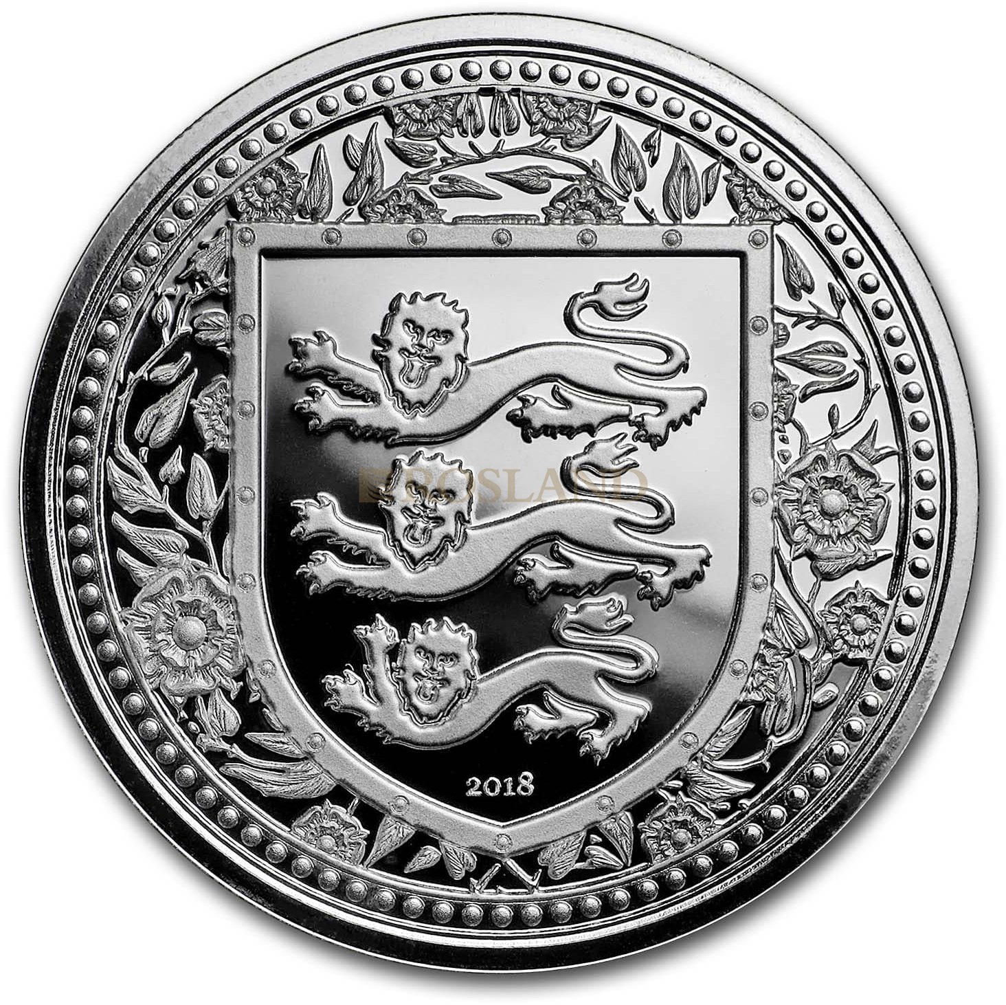 1 Unze Silbermünze Royal Arms of England 2018