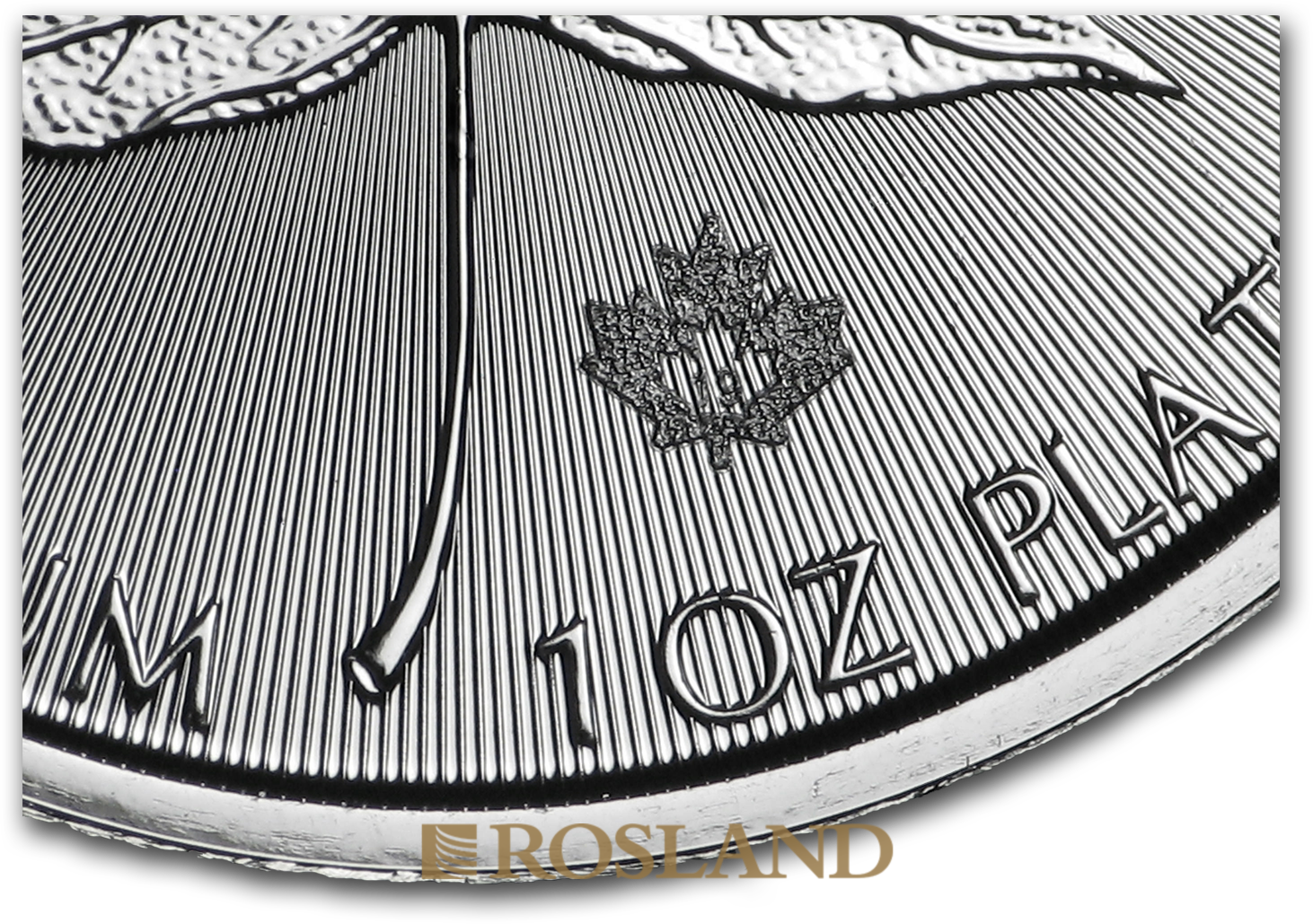 1 Unze Platinmünze Kanada Maple Leaf 2020