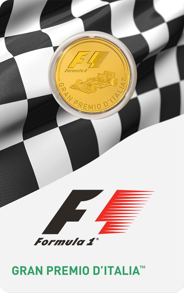 1/4 Unze Goldmünze Formel 1® Gran Premio d'Italia™ 2016 PP (Box, Zertifikat)