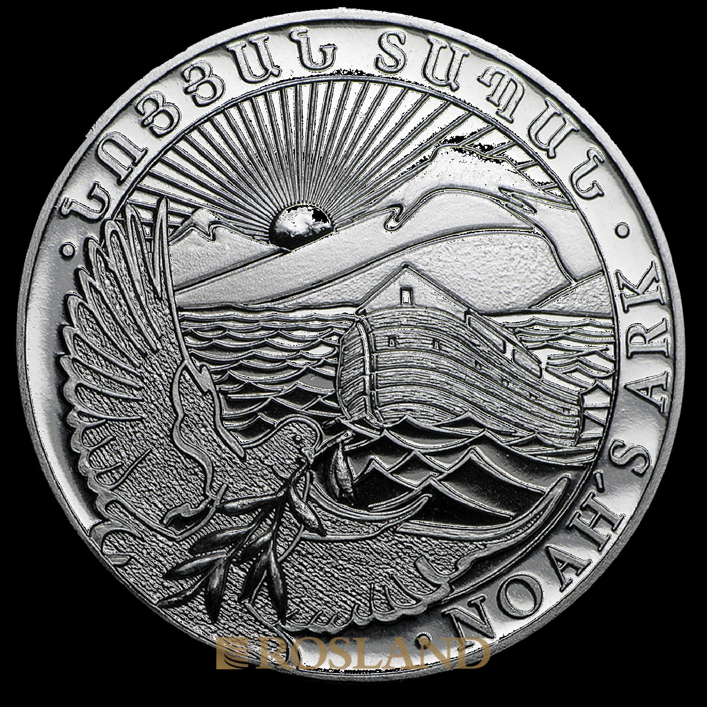 1/2 Unze Silbermünze Armenien Arche Noah 2016