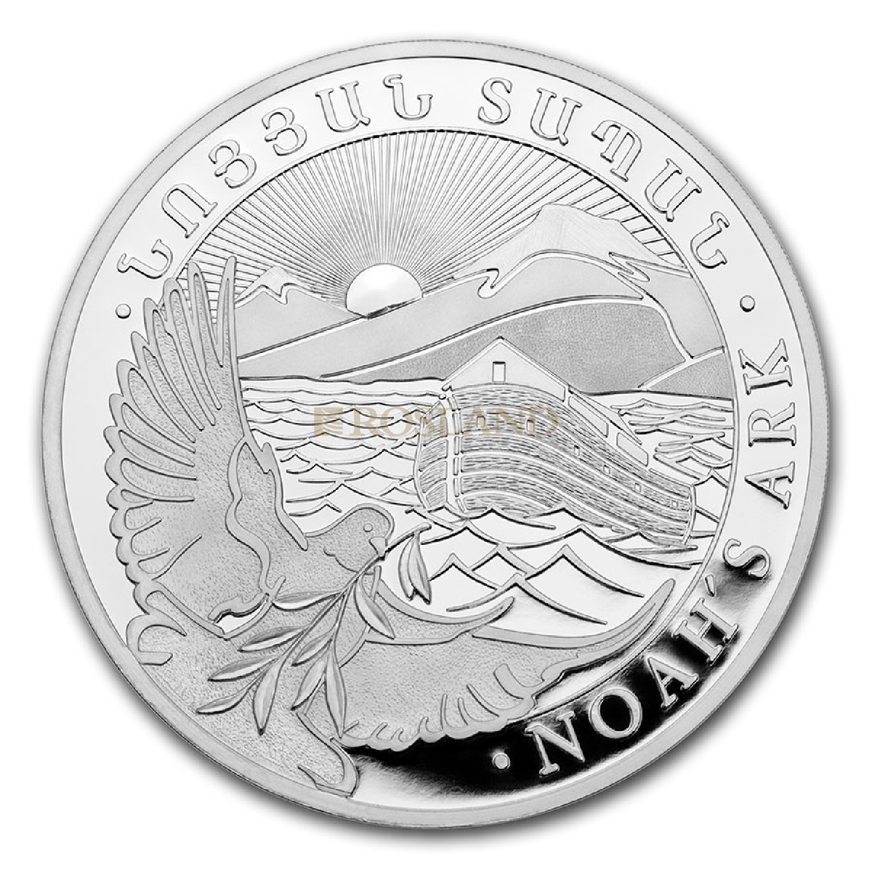 1/2 Unze Silbermünze Armenien Arche Noah 2021