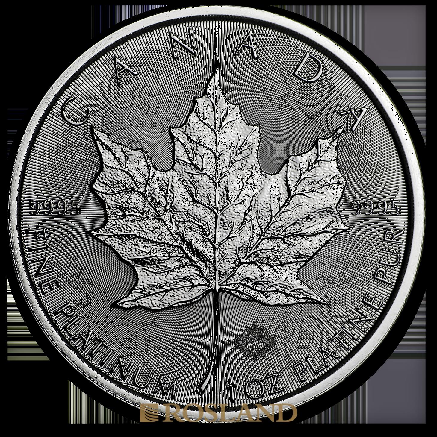 1 Unze Platinmünze Kanada Maple Leaf 2019