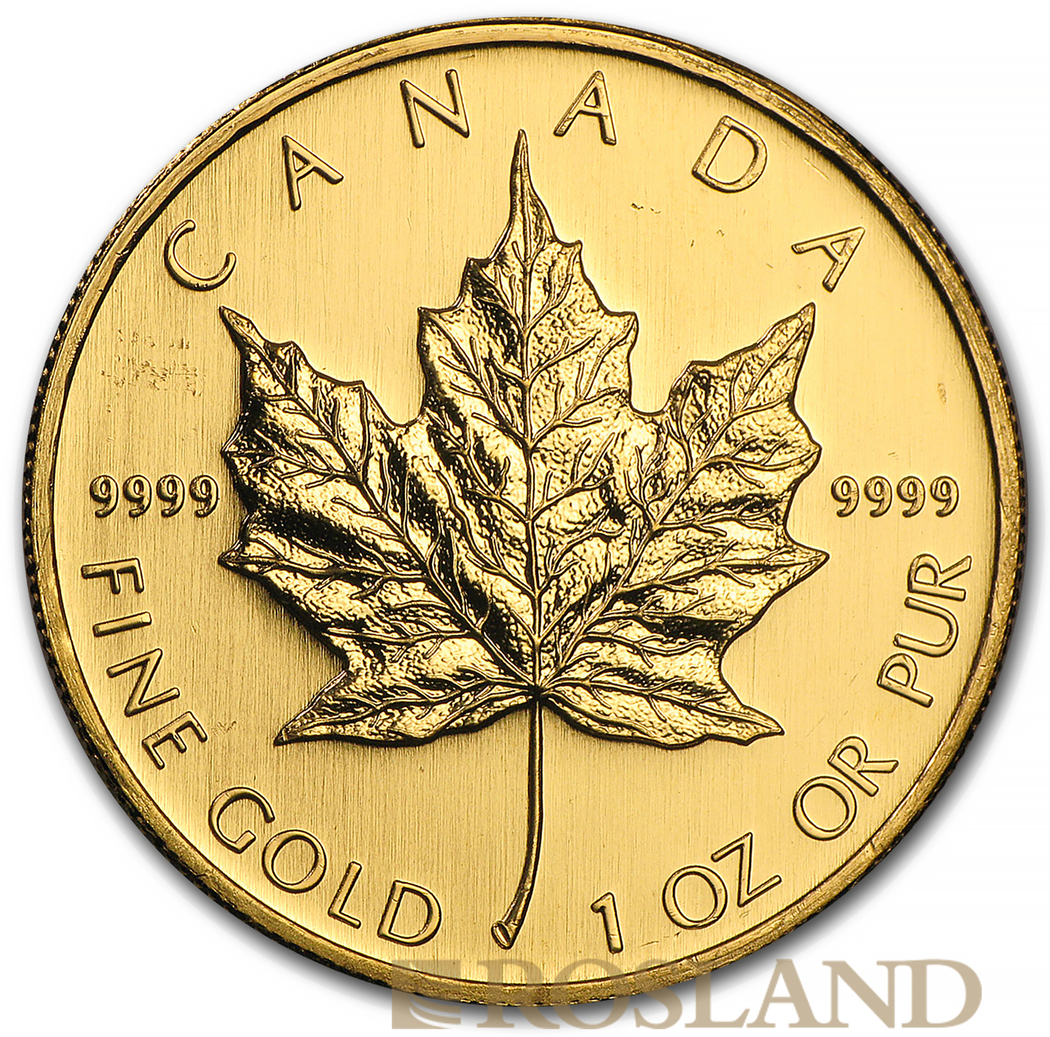 1 Unze Goldmünze Kanada Maple Leaf 2006