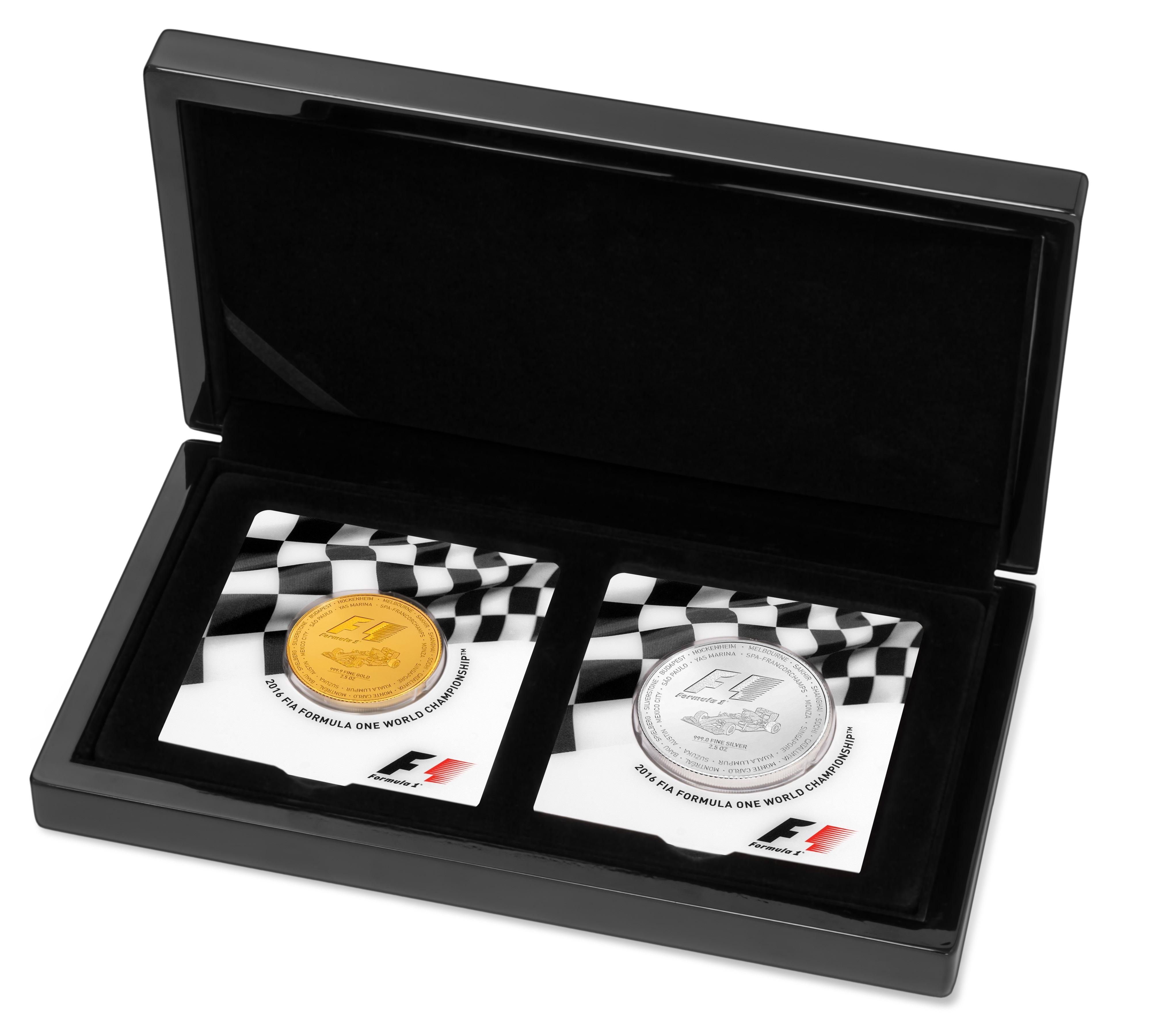 5 Unzen Formel 1® Set 2016 PP (Box, Zertifikat)
