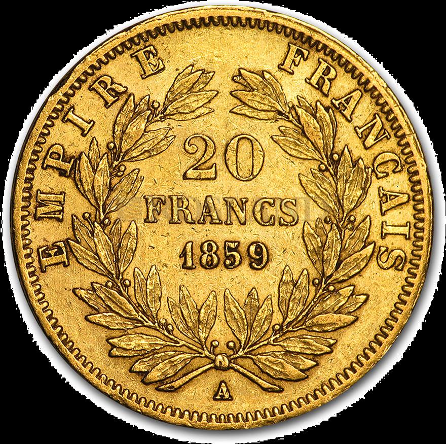 0.186 Unze Goldmünze Vrenelli 1852-1870