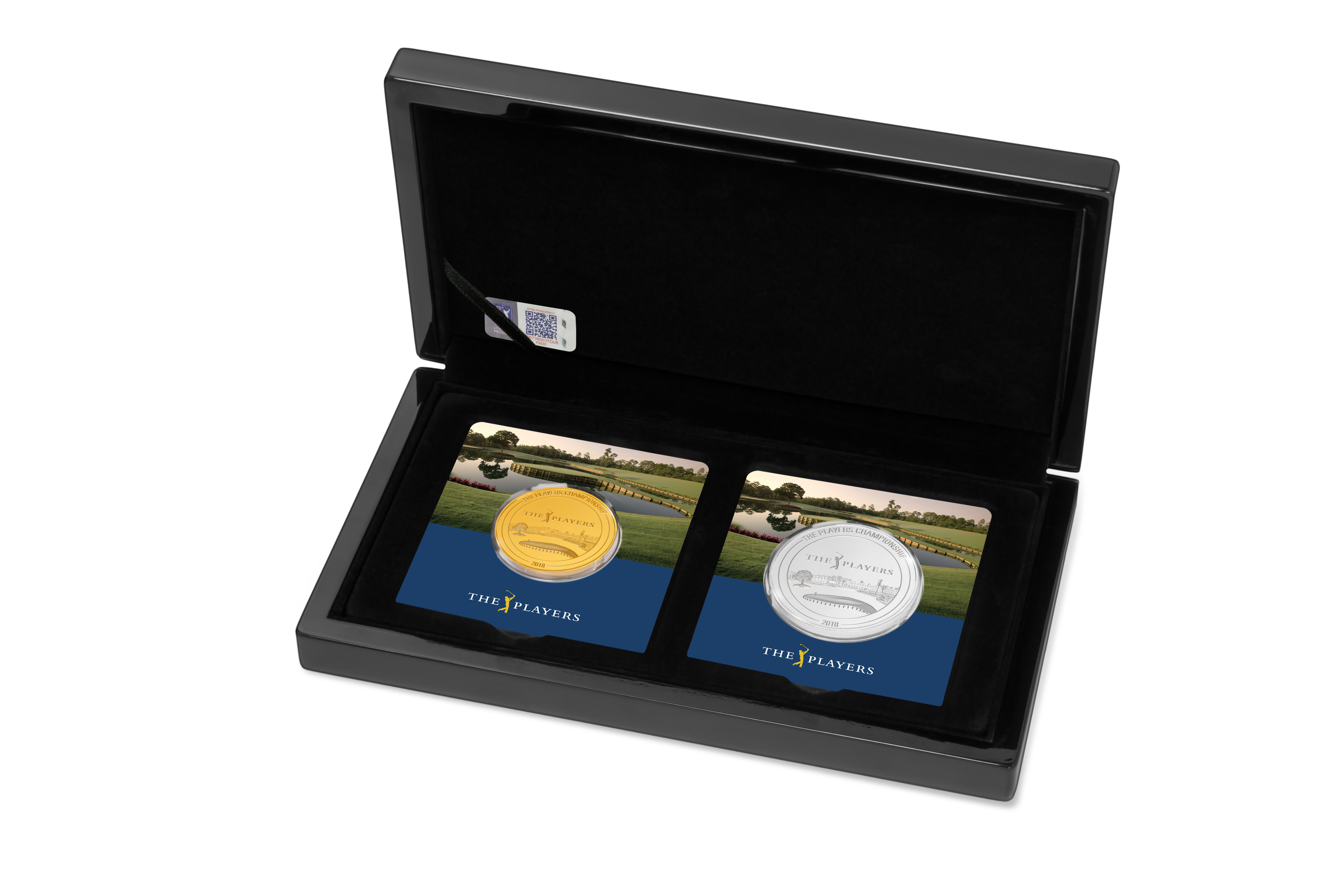 3 Unzen PGA TOUR® THE PLAYERS CHAMPIONSHIP 2018 Set PP (Box, Zertifikat)
