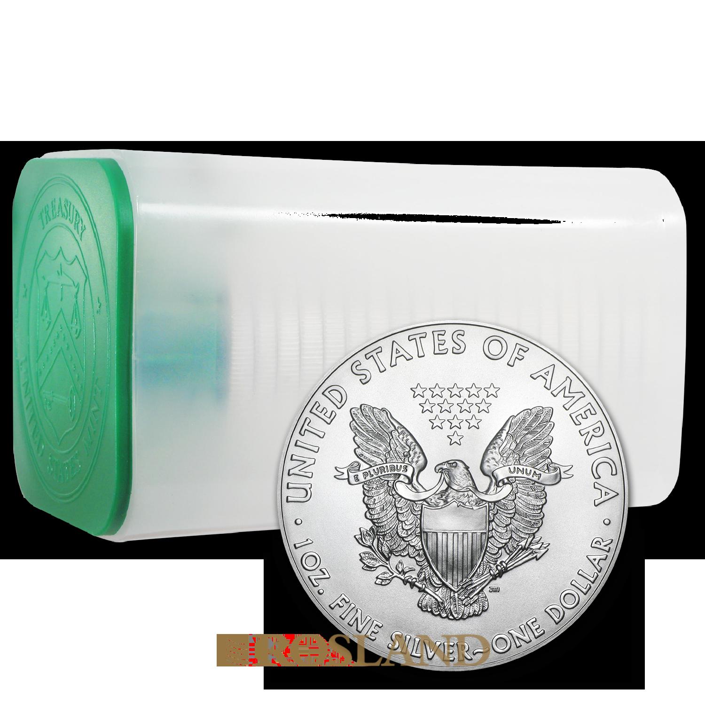 1 Unze Silbermünze American Eagle 1990