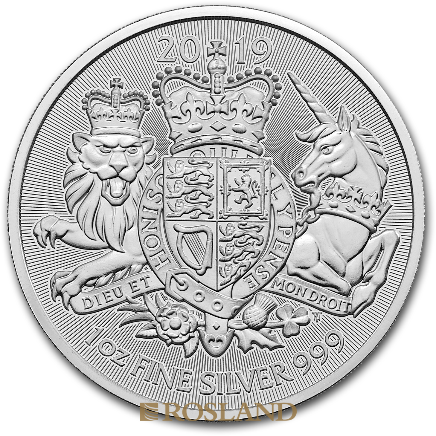 1 Unze Silbermünze Great Britain The Royal Arms 2019