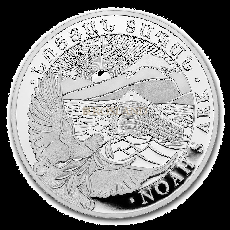1/4 Unze Silbermünze Armenien Arche Noah 2021