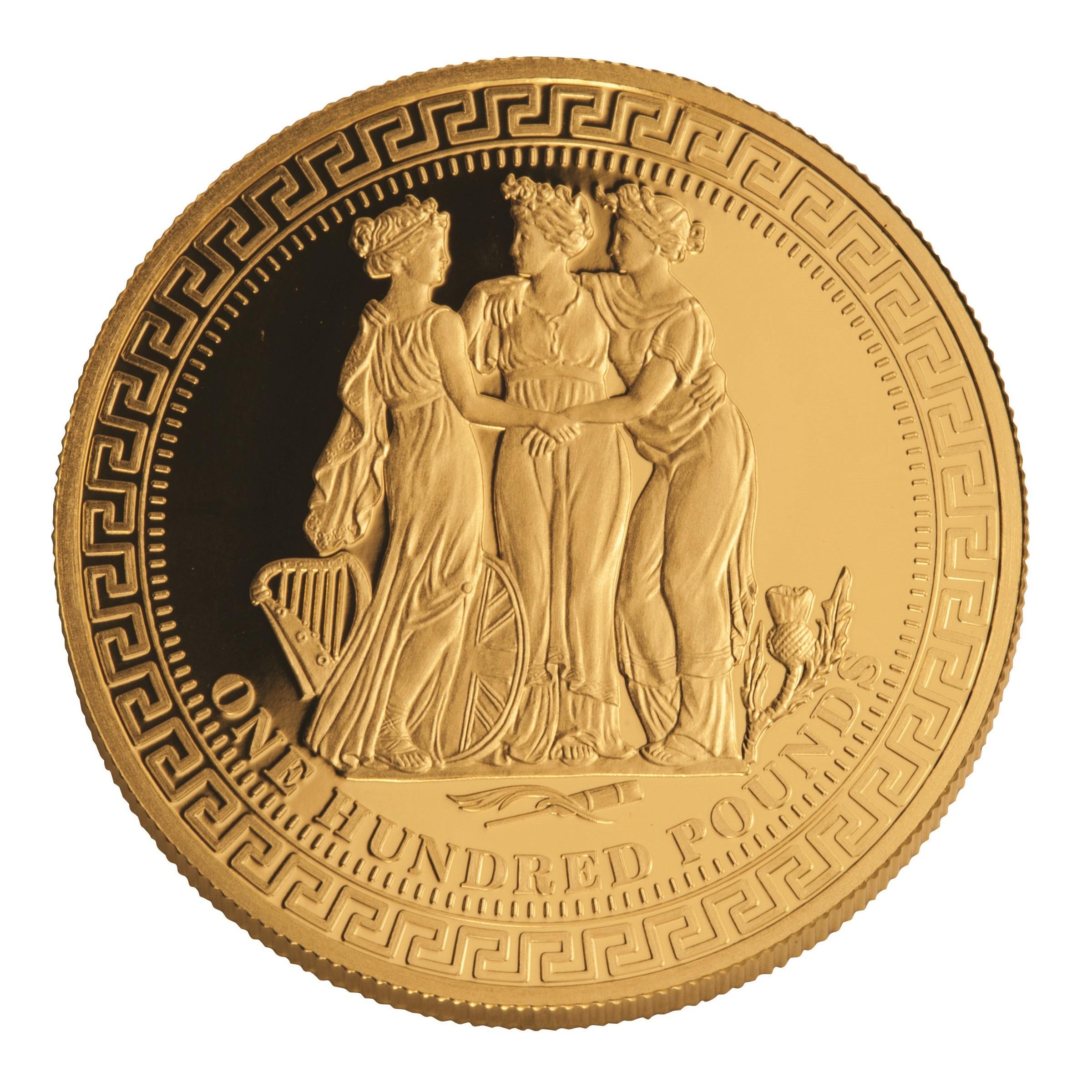 1 Unze Goldmünze Die drei Grazien 2015