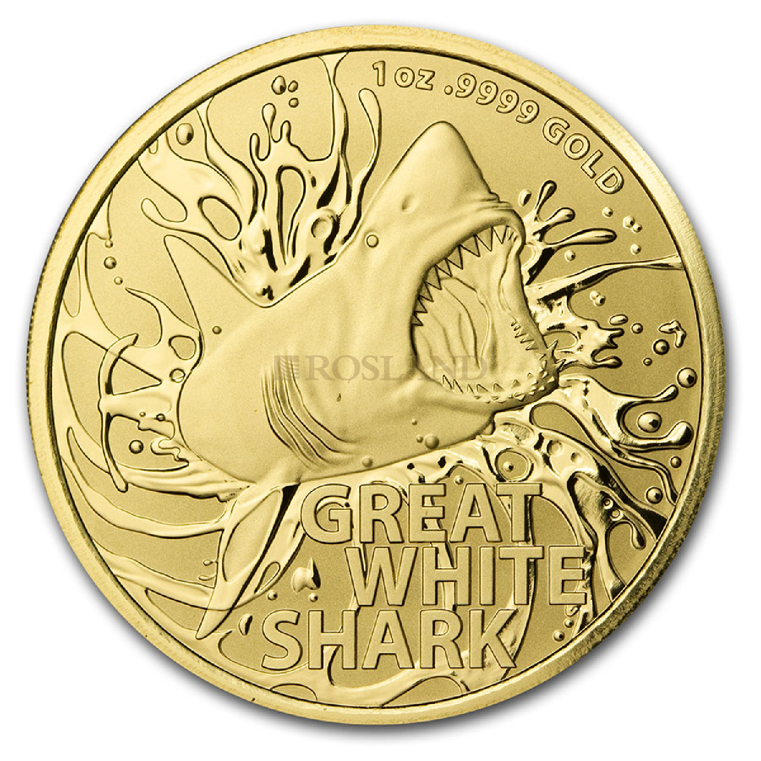 1 Unze Goldmünze RAM Australia's Most Dangerous Great White Shark 2021 (Box, Zertifikat)