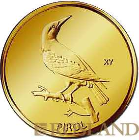 20 Euro Goldmünze Heimische Vögel - Pirol 2017 München (D)