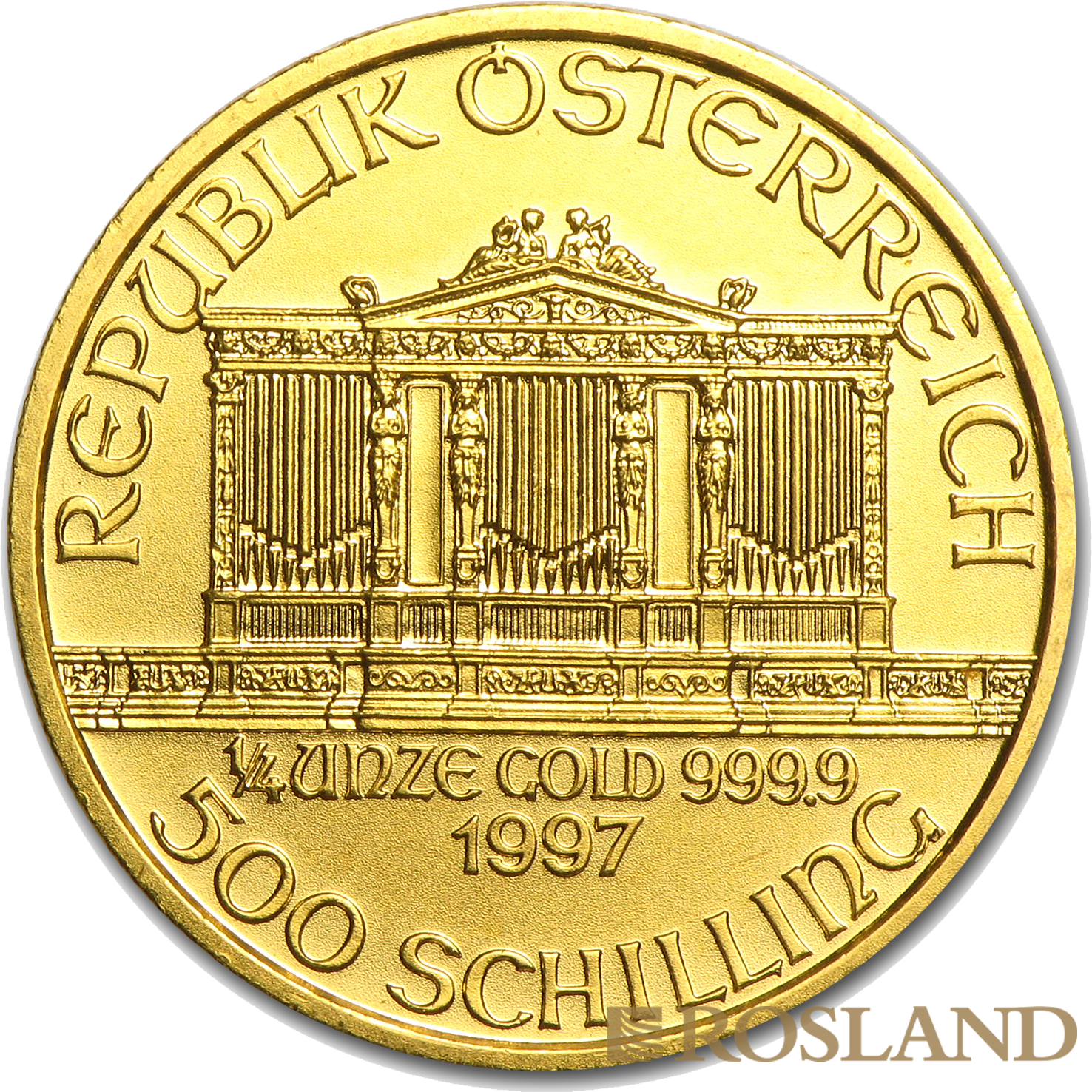 1/4 Unze Goldmünze Wiener Philharmoniker 1997