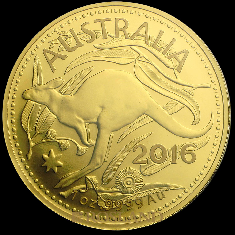 1 Unze Goldmünze RAM Känguru 2016