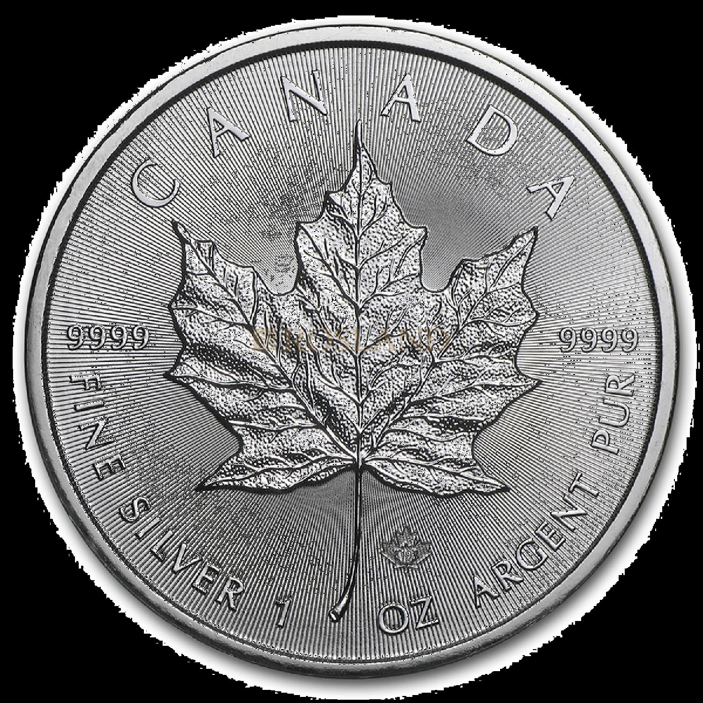 1 Unze Silbermünze Kanada Maple Leaf 2021