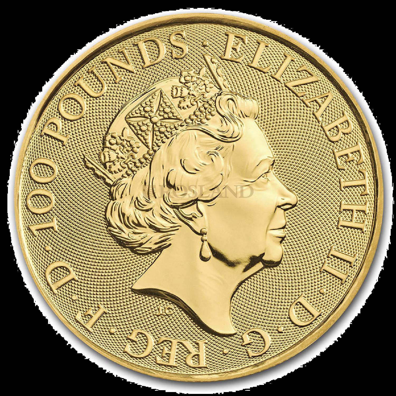 1 Unze Goldmünze GB Musiklegenden - Elton John 2021