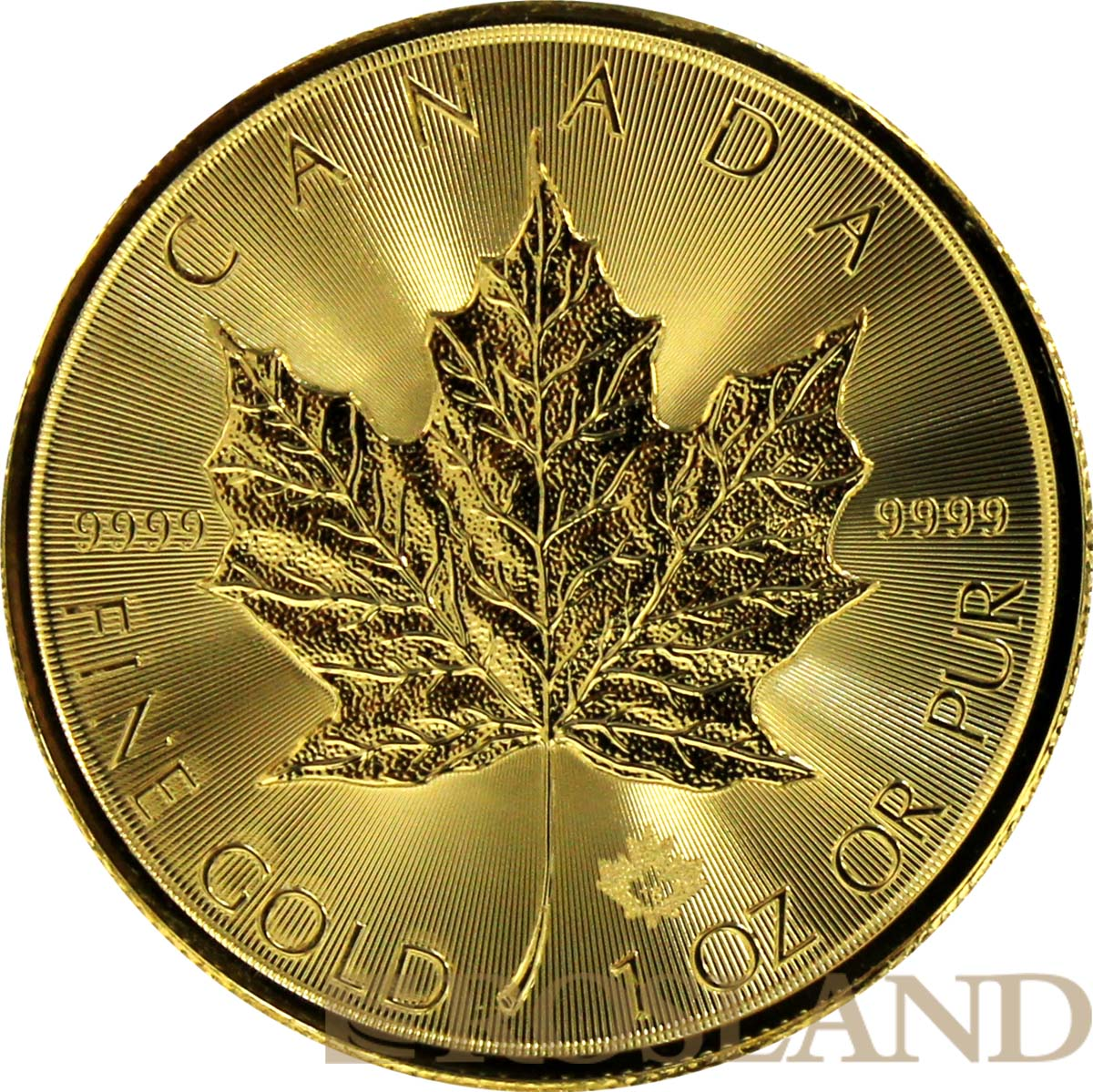 1 Unze Goldmünze Kanada Maple Leaf 2018