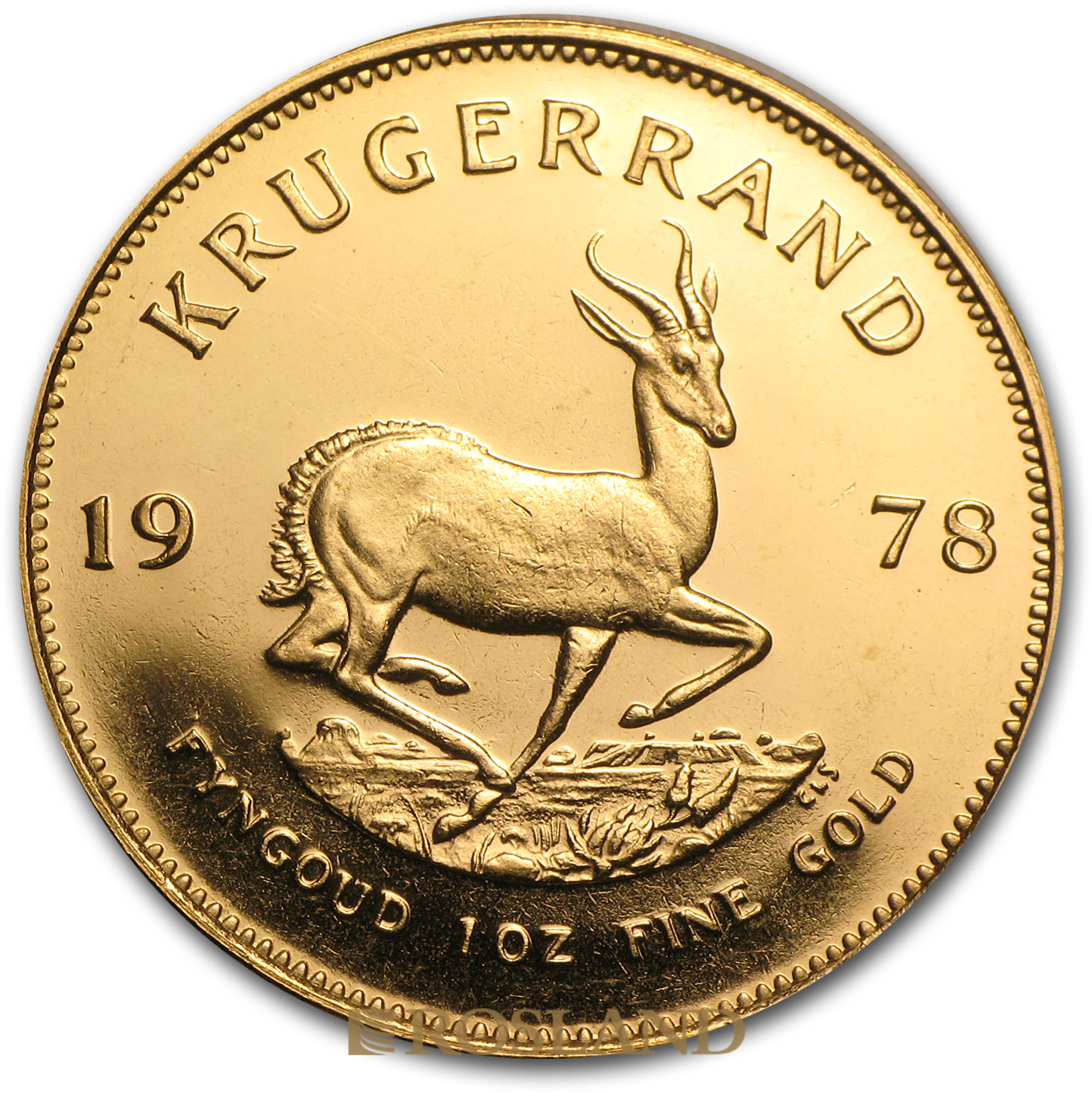 1 Unze Goldmünze Krügerrand 1978