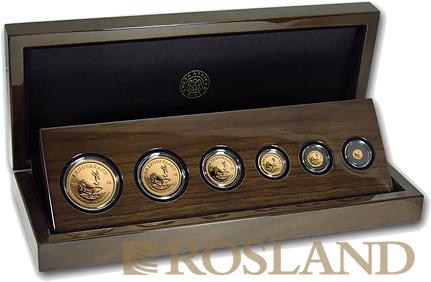 6 Goldmünzen Krügerrand Prestige Set 2018 PP (Box, Zertifikat)
