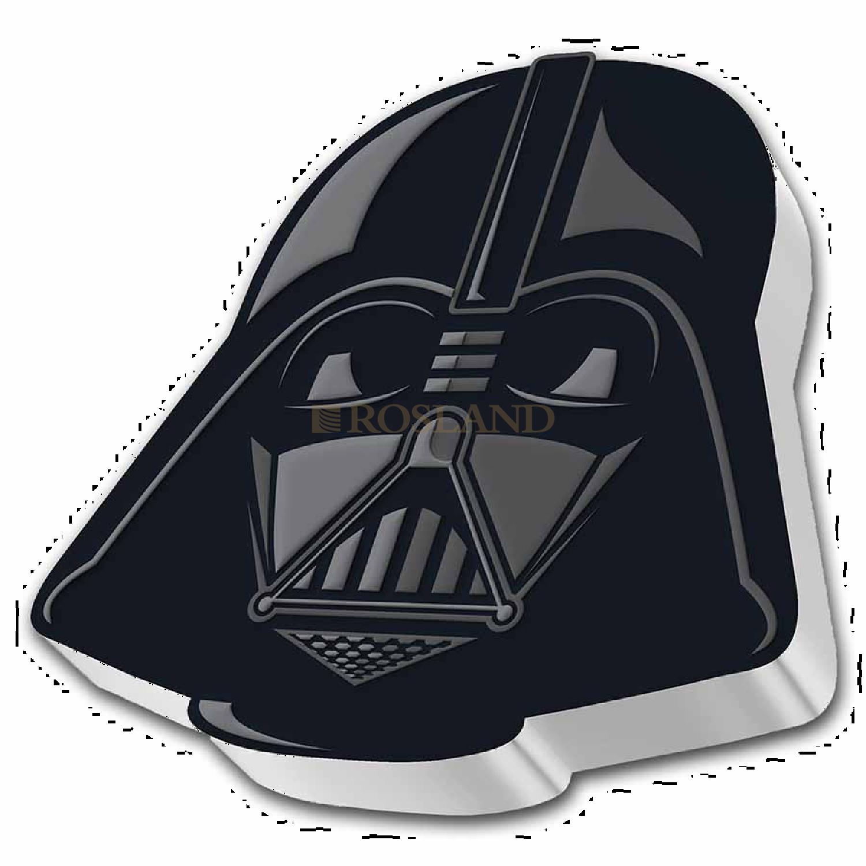 1 Unze Silbermünze Star Wars™ Faces of the Empire - Darth Vader Helm 2021 PP (Box, Zertifikat)