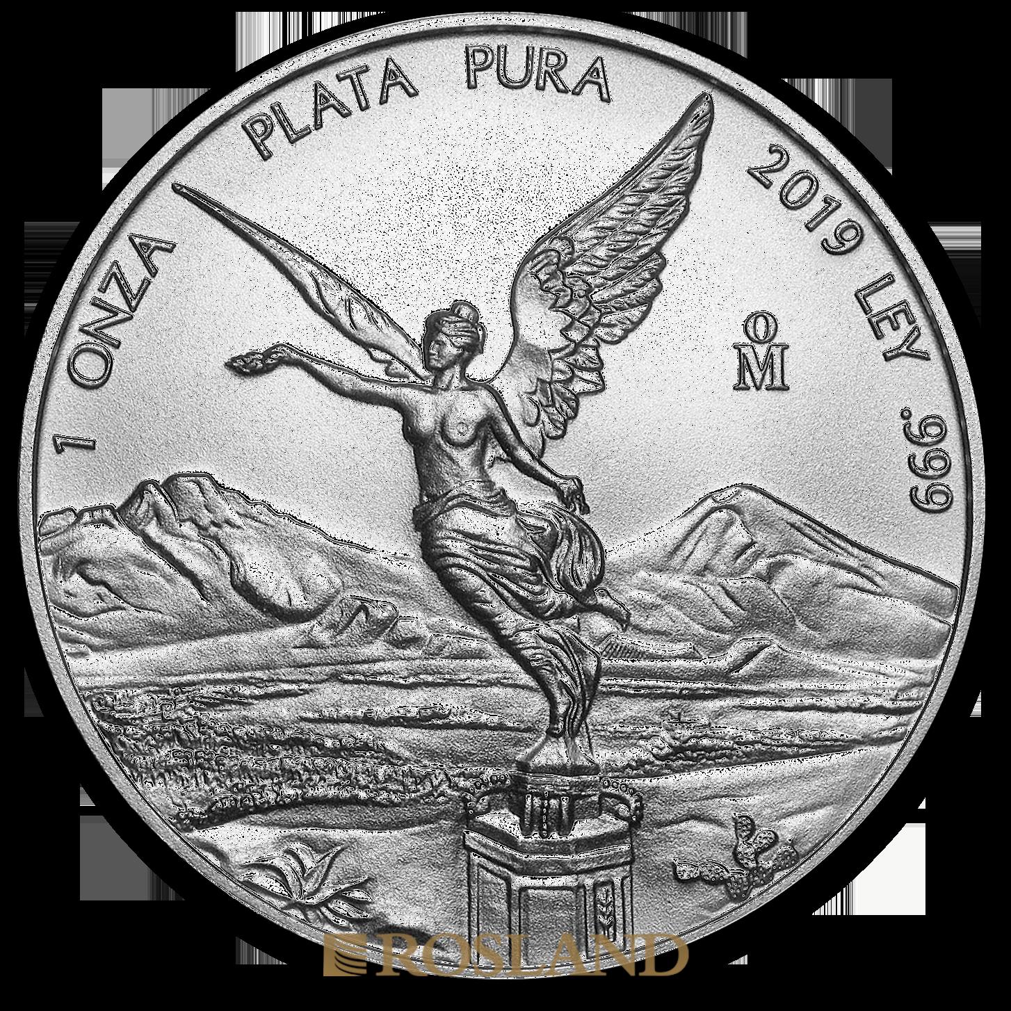 1 Unze Silbermünze Mexican Libertad 2019