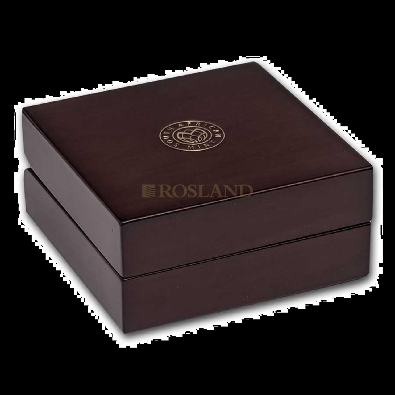 1 Unze Platinmünze Big Five Buffalo 2021 PP (Box, Zertifikat)
