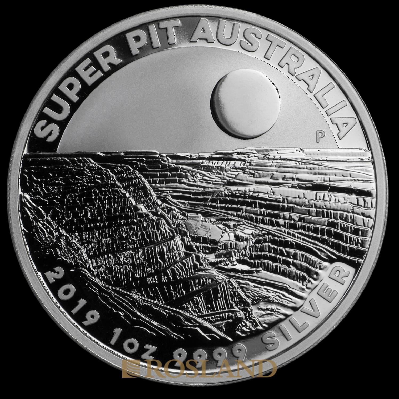 1 Unze Silbermünze Perth Mint Super Pit 2019