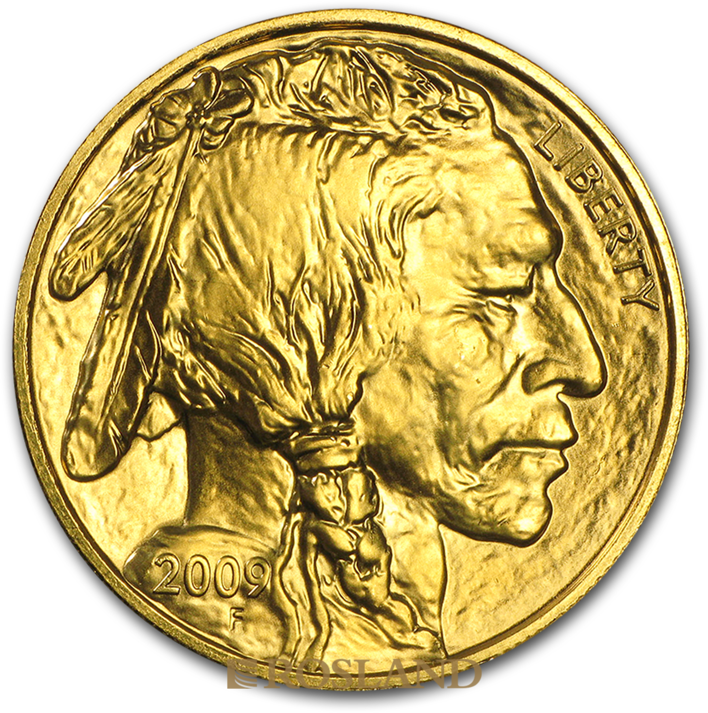 1 Unze Goldmünze American Buffalo 2009