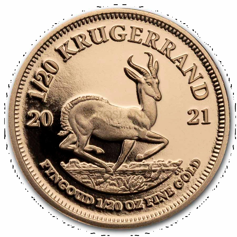 6 Goldmünzen Krügerrand Prestige Set 2021 PP (Box, Zertifikat)
