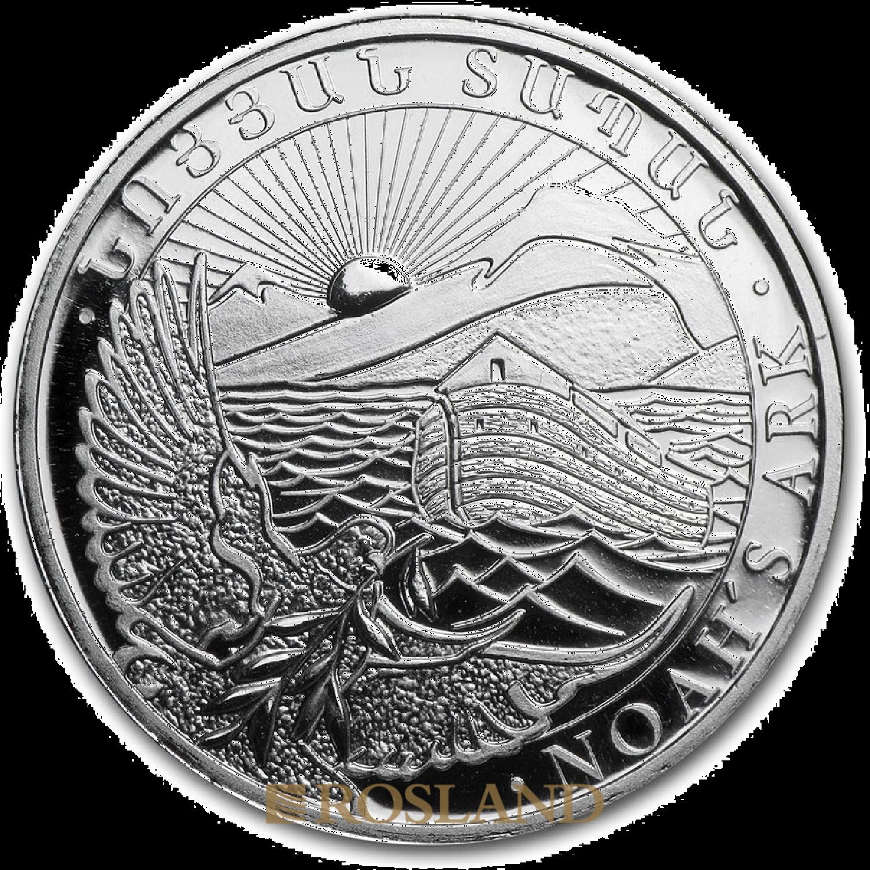 1/2 Unze Silbermünze Armenien Arche Noah 2015