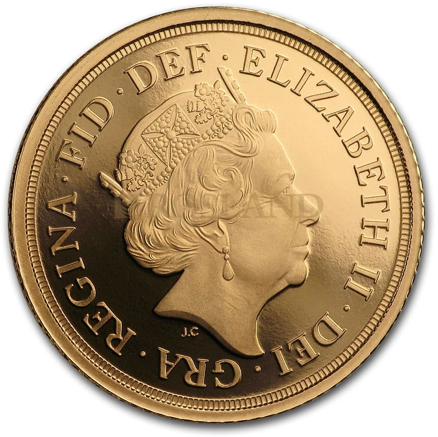0,41 Unzen - 3 Goldmünzen Set Großbritannien Sovereign 2020 PP (Box, Zertifikat)