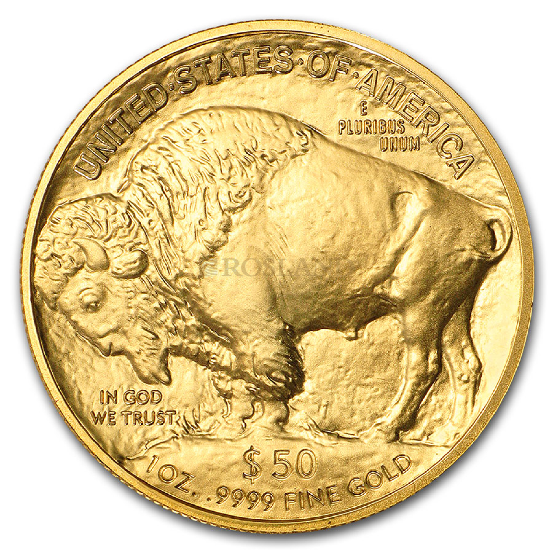 1 Unze Goldmünze American Buffalo 2021 PCGS MS-70 First Day