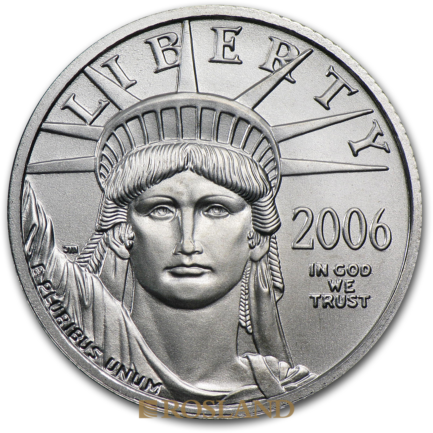 1/4 Unze Platinmünze American Eagle 2006