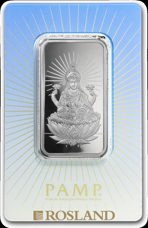 1 Unze Silberbarren PAMP Religion - Lakshmi