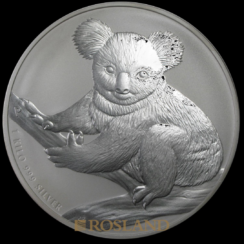 1 Kilogramm Silbermünze Koala 2009