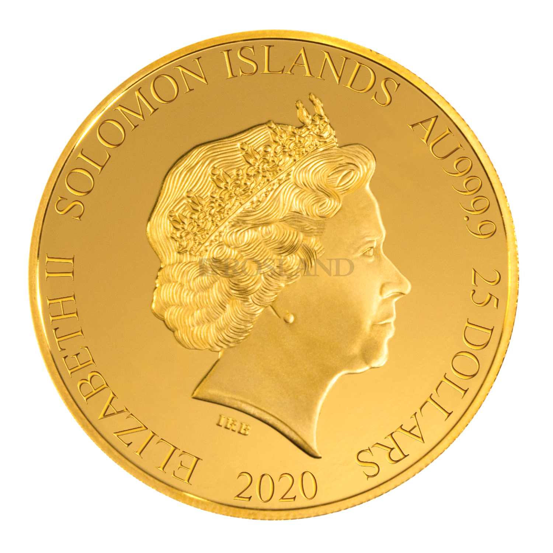 1/4 Unzen Goldmünze Michael Schuhmacher 2020 PP (Blister, Zertifikat)