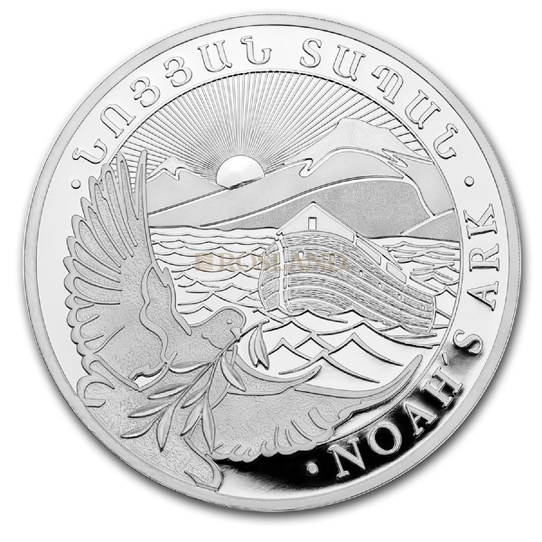 1/2 Unze Silbermünze Armenien Arche Noah 2020
